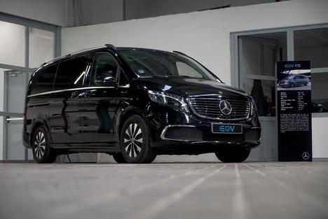 Gama de furgonetas eléctricas de Mercedes-Benz