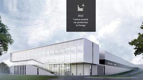 Desde 2022 las fábricas europeas de Daimler tendrán huella neutral de CO2