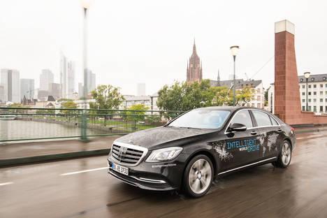 El proyecto «Intelligent World Drive» de Mercedes-Benz