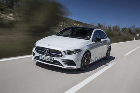 Mercedes lidera el mercado Premium en España en 2019