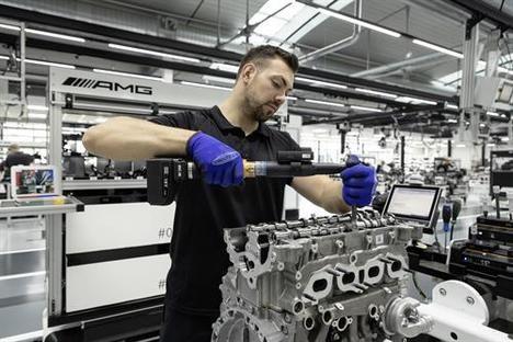 Nuevo motor sobrealimentado de cuatro cilindros de Mercedes-AMG