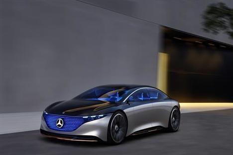 Showcar Mercedes Vision EQS