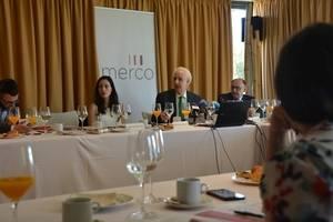 Presentación del ranking Merco 2016. En el centro, José María San Segundo, director del estudio.