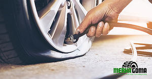 Taller de neumáticos: Merkagoma facilita una guía de actuación en caso de pinchazo