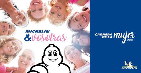 Michelin patrocina la Carrera de la Mujer 2019