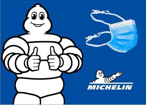 Michelin dona más de 400.000 mascarillas quirúrgicas