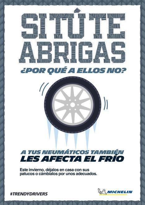 Michelin conciencia sobre la importancia de los neumáticos de invierno