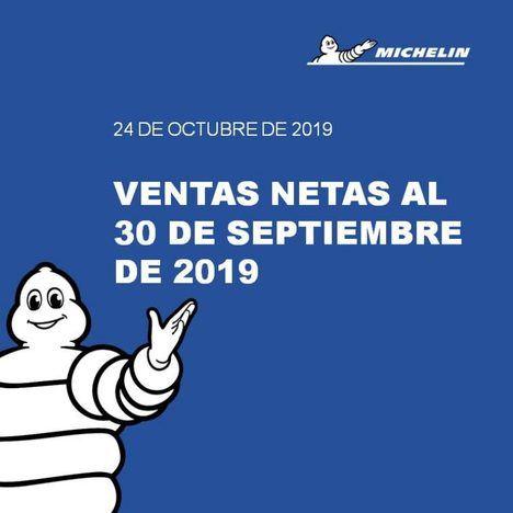 Ventas del grupo Michelin