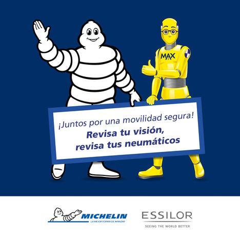 Michelin y Essilor lanzan una campaña de sensibilización