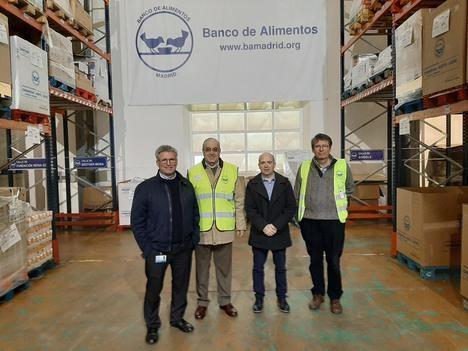 ViaLider colabora con el Banco de Alimentos de Madrid