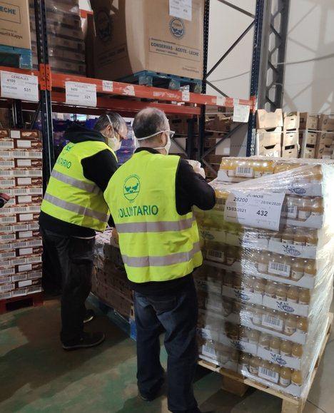 Michelin y sus empleados colaboran con los bancos de alimentos