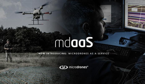 Microdrones as a Service (mdaaS) disponible ahora