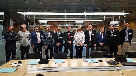 Miembros de la Asamblea de socios de Madrid Subterra.