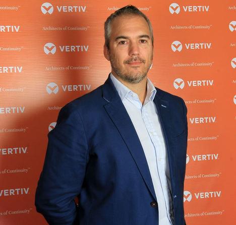 Miguel del Moral, director del negocio de canal de Vertiv Iberia.