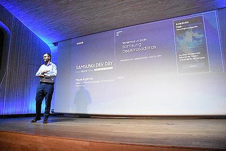 Miguel Ángel Ruiz, Samsung.