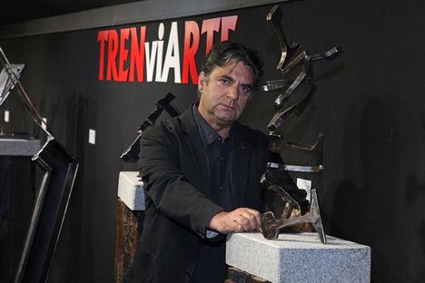 El escultor soriano Miguel Ángel Sánchez se une a la iniciativa Almarail ...esCultural