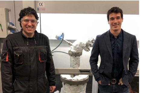 Mikel Azkona y Carlos Uraga, socios fundadores de Nantek.