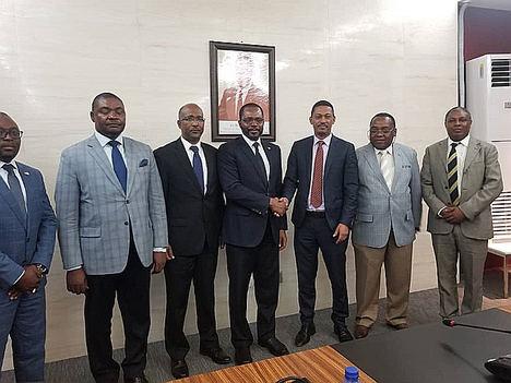 Audiencia del Excmo. Ministro Titular con el Excmo. Ministro de Petróleo de Etiopia