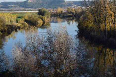 El agua es, curiosamente, gran protagonista en la Ruta del vino Cigales