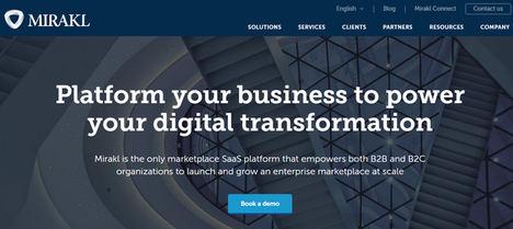 Mirakl capta 300 millones de dólares para activar el Futuro del Comercio
