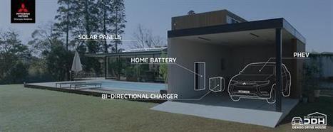 """Mitsubishi presenta Dendo Drive House: """"Forma parte de la energía"""""""