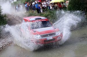 Mitsubishi lidera con autoridad el Campeonato de España de Rallyes Todo Terreno