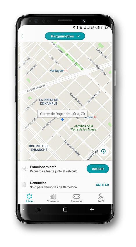 """BSM autoriza a la """"app"""" Bip&Drive para el pago de los parquímetros de Barcelona"""