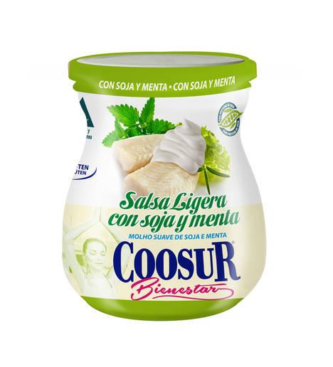 Coosur lanza su salsa ligera de soja y menta