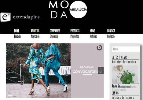 175 firmas de moda exponen sus diseños en los mercados internacionales en el portal 'Moda Andalucía' de Extenda Plus