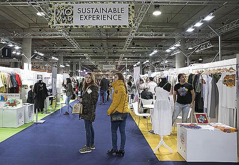 La Moda sostenible sigue ganando protagonismo en MOMAD, a través de su área Sustainable Experience