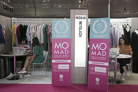 Momad apoya a los jóvenes diseñadores