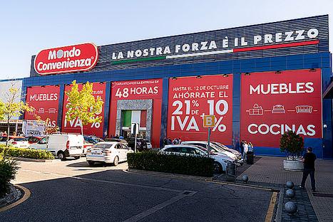 Mondo Convenienza abre su primera tienda en Madrid, la tercera en el mercado español