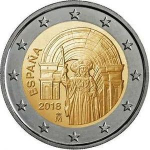 Moneda 2 euros.