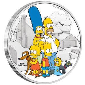 Filatelia López presenta su selección de monedas de la conocida serie 'Los Simpsons'