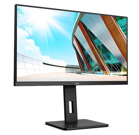 AOC lanza cuatro monitores profesionales QHD y 4K de conectividad USB-C inteligente