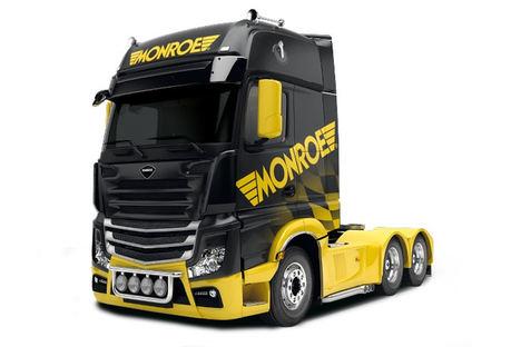 Monroe® aporta la experiencia de OE en amortiguadores de vehículos comerciales