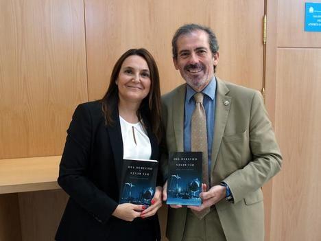 Montero y Lara, en la presentación del libro.