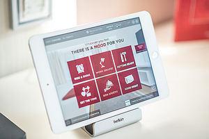 NH Hotel Group presenta en Alemania Mood Room™, su habitación del futuro