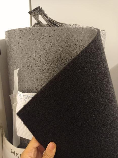 Desarrollan nuevos productos a partir de restos de moquetas y de tejidos de revestimiento