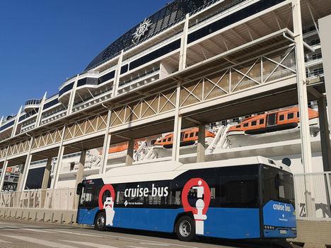 El Cruise Bus de Moventis retoma su servicio con nuevos vehículos de gas natural comprimido