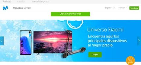 Movistar, primer operador móvil que incorpora a su canal online un espacio de marca Xiaomi
