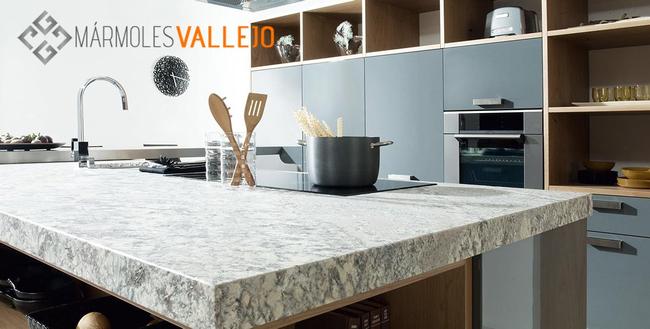 Mármoles Vallejo propone un mundo de ideas para encimeras de cocina ...