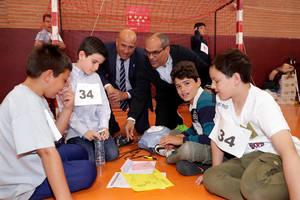 Más de 4.200 alumnos han competido en la IX edición de la Yincana Matemática de la Comunidad de Madrid