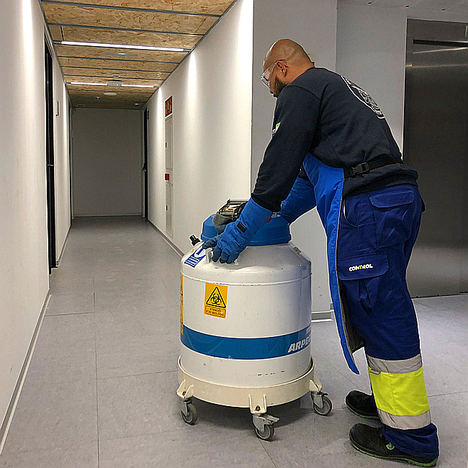 Mudanzas Control traslada los laboratorios del Instituto de Investigación del Hospital de Sant Pau