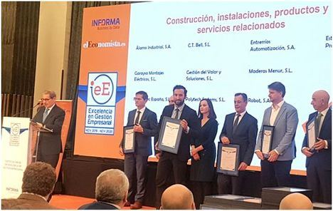 Murprotec recibe la Certificación IeE a la excelencia en gestión empresarial