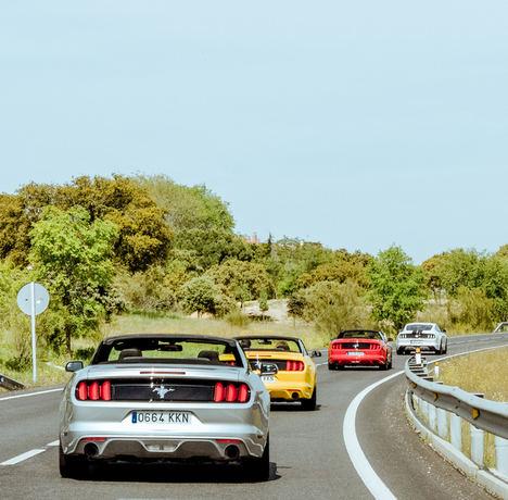 Mustang Road. ©Julen Martín