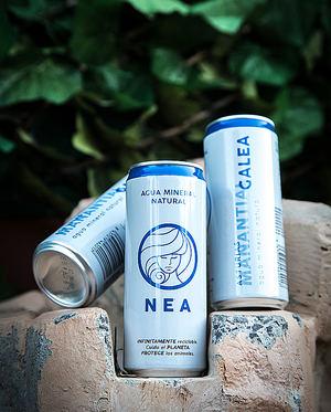 Nace Nea, el agua sin plástico