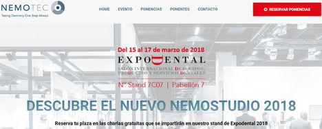 Nemotec presenta en Expodental 2018 importantes novedades