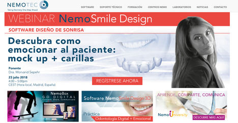 Nemotec presente en las 225 clínicas dentales Vivanta con su nueva versión Nemostudio 2018