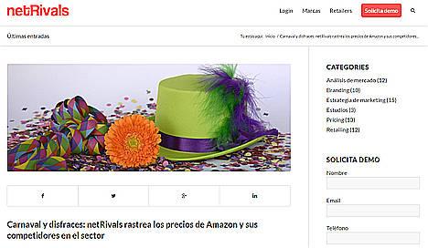 Los disfraces de Carnaval más baratos, en Amazon e Impulsivos